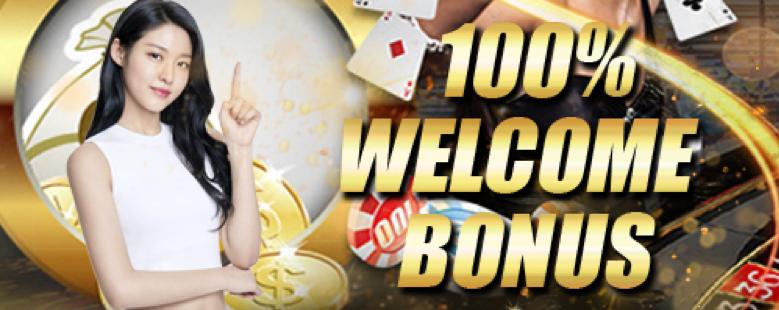 K9WIN 100% WELCOME BONUS