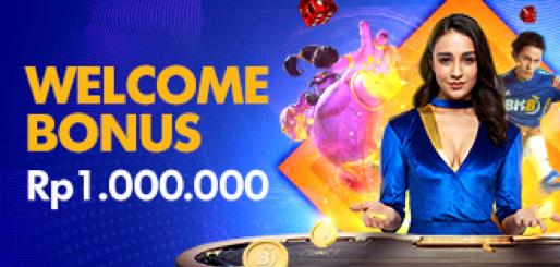 BK8 WELCOME BONUS 100% SAMPAI Rp 1.000.000